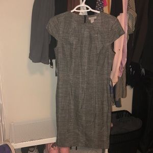 Belted tweed dress (brand new, never worn)
